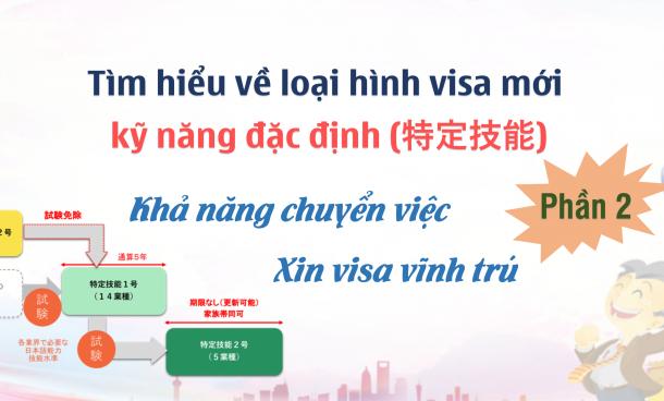 Tìm hiểu về visa kỹ năng đặc định 特定技能 (phần 2): Khả năng chuyển việc – xin visa vĩnh trú